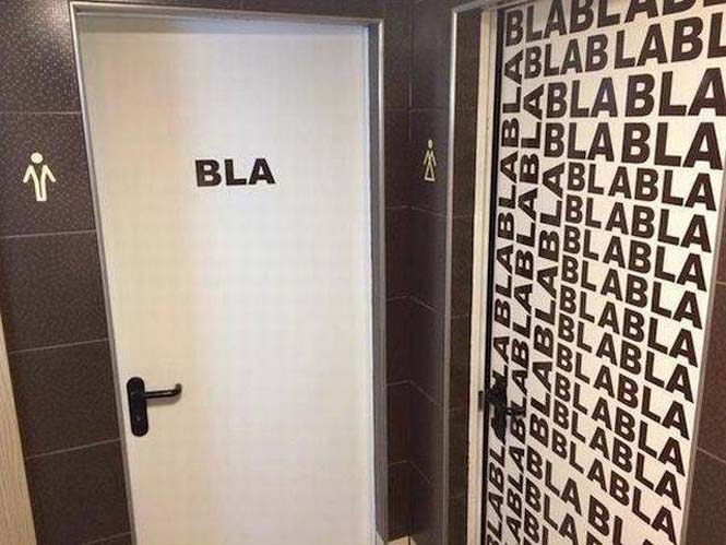Ξεχωρίζοντας ανδρικές και γυναικείες τουαλέτες με φαντασία (1)