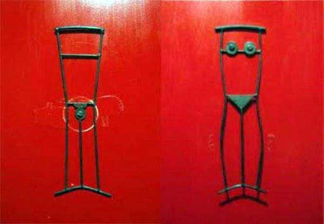 Ξεχωρίζοντας ανδρικές και γυναικείες τουαλέτες με φαντασία (20)