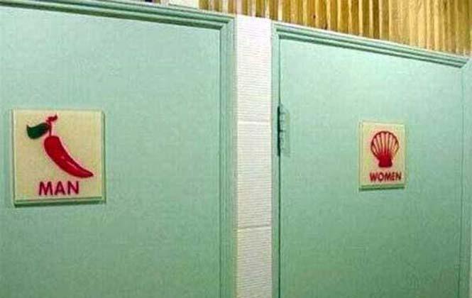 Ξεχωρίζοντας ανδρικές και γυναικείες τουαλέτες με φαντασία (6)