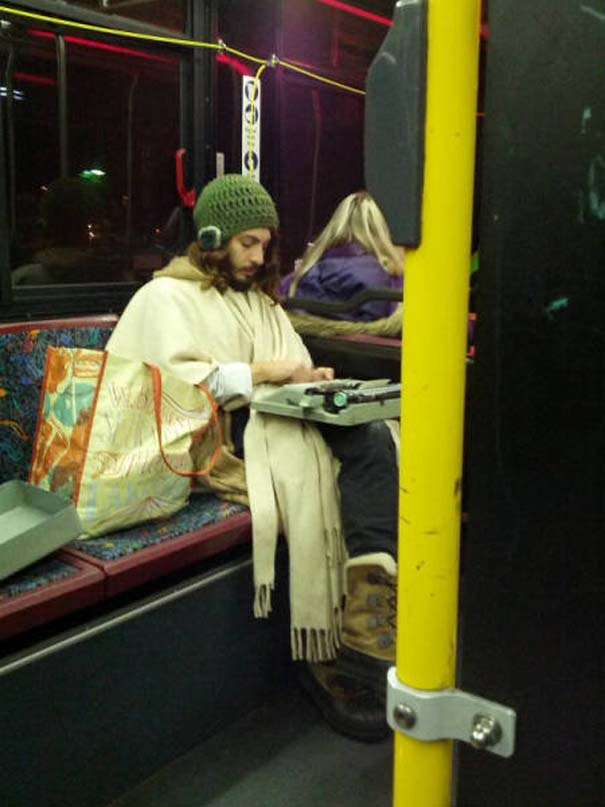 Παράξενες και κωμικοτραγικές φωτογραφίες στα μέσα μεταφοράς #9 (5)