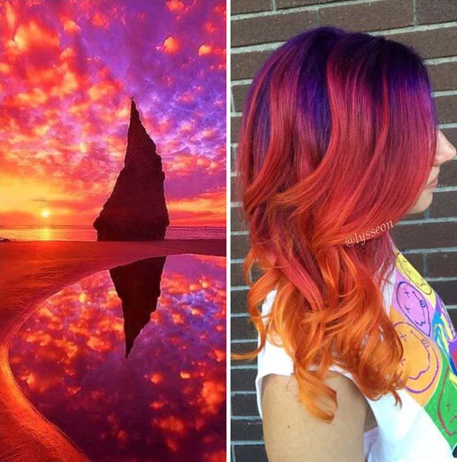 Μαλλιά στα χρώματα του Γαλαξία (1)