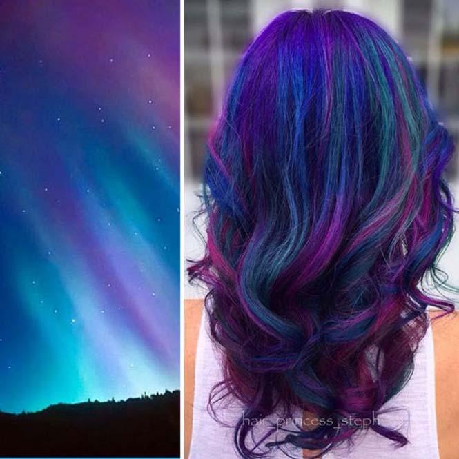 Μαλλιά στα χρώματα του Γαλαξία (2)