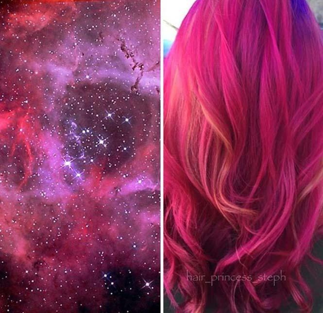 Μαλλιά στα χρώματα του Γαλαξία (3)