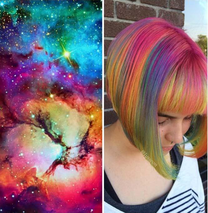 Μαλλιά στα χρώματα του Γαλαξία (4)