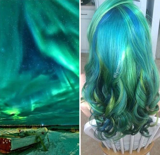 Μαλλιά στα χρώματα του Γαλαξία (5)