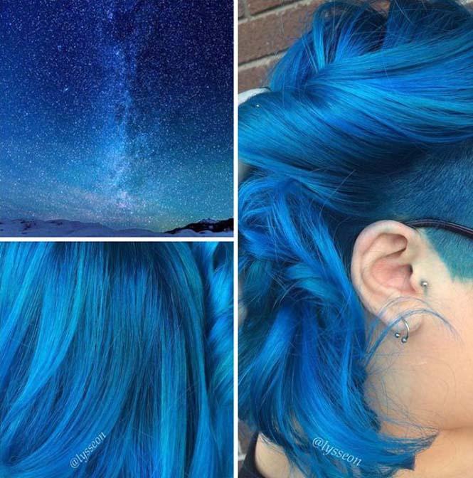 Μαλλιά στα χρώματα του Γαλαξία (7)
