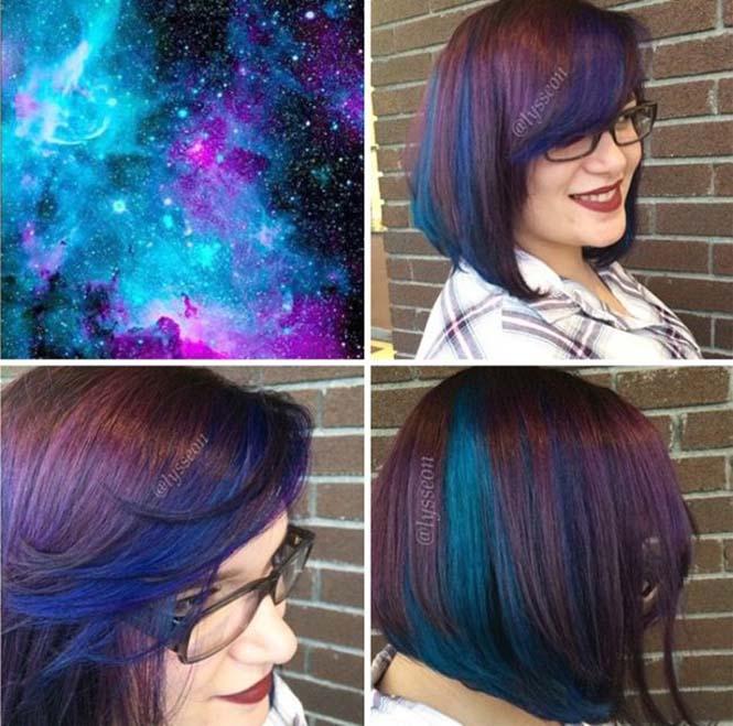 Μαλλιά στα χρώματα του Γαλαξία (8)