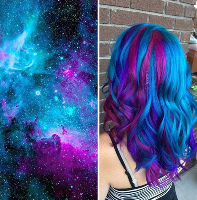 Μαλλιά στα χρώματα του Γαλαξία (11)