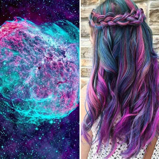 Μαλλιά στα χρώματα του Γαλαξία (15)