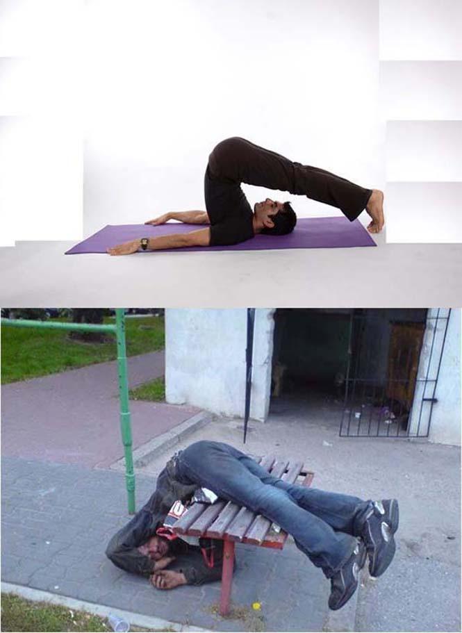 Μεθυσμένοι μιμούνται στάσεις Yoga (11)
