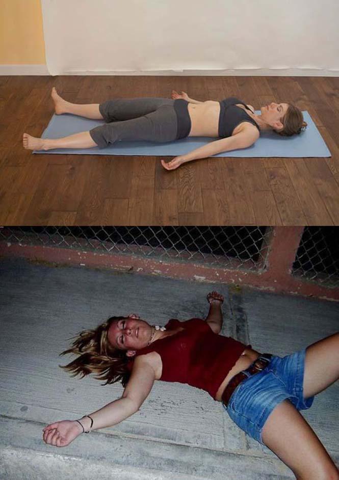 Μεθυσμένοι μιμούνται στάσεις Yoga (14)