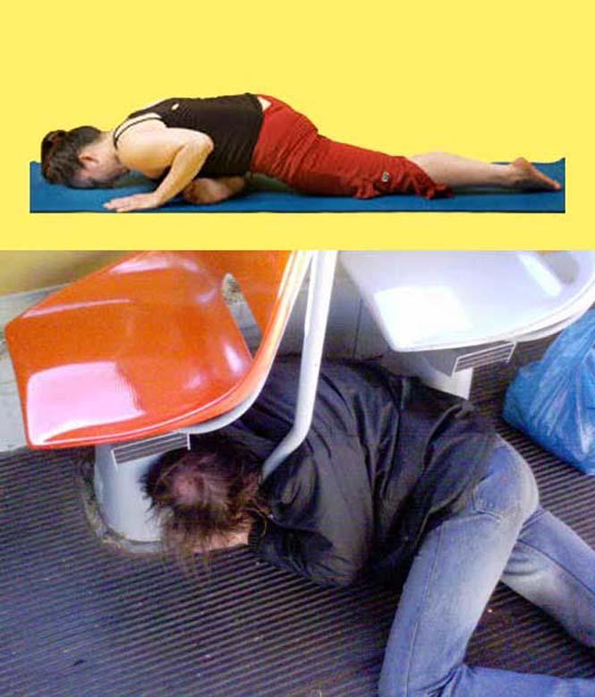 Μεθυσμένοι μιμούνται στάσεις Yoga (17)