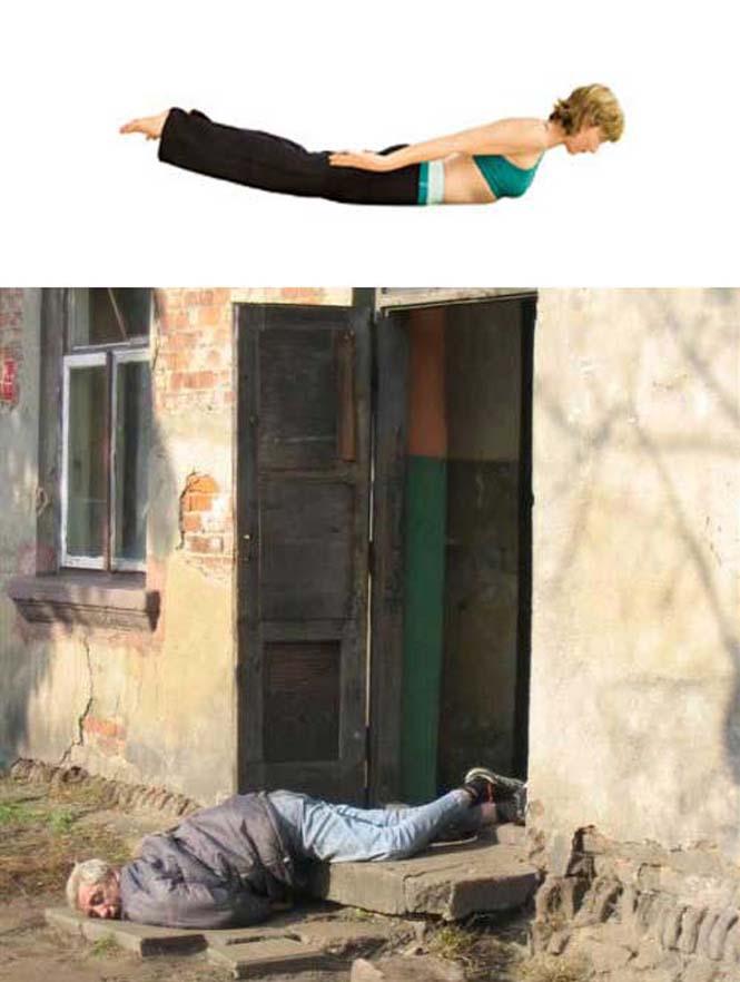 Μεθυσμένοι μιμούνται στάσεις Yoga (23)