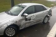 Οδηγός βγήκε ζωντανός από τρομακτικό τροχαίο κυριολεκτικά στο παρά τρίχα (3)