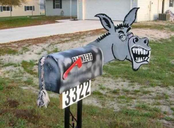 Παράξενα γραμματοκιβώτια (17)