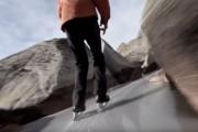 Πατινάζ σε ορειβατικό μονοπάτι