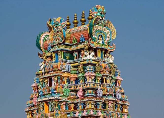 Πολύχρωμοι ναοί στην Ινδία (4)