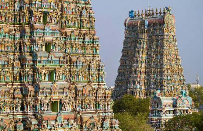 Πολύχρωμοι ναοί στην Ινδία (5)