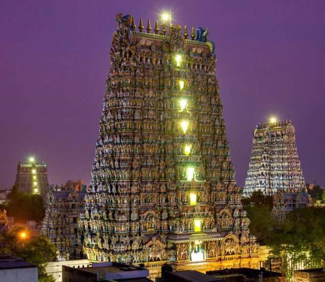 Πολύχρωμοι ναοί στην Ινδία (6)