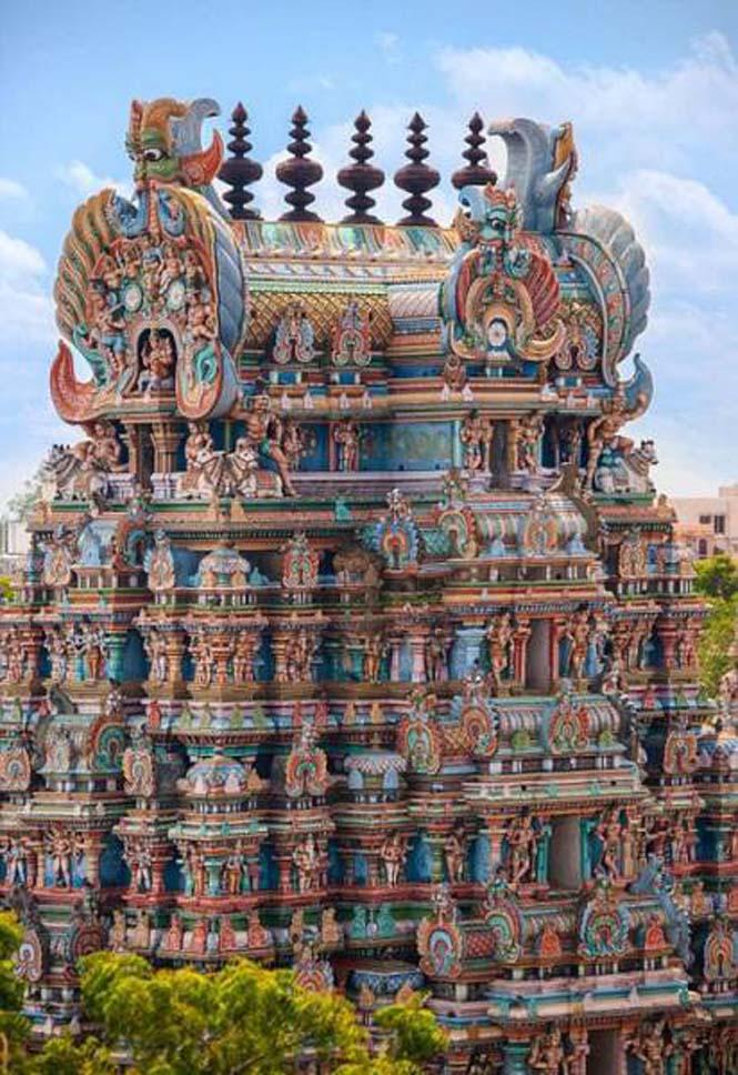 Πολύχρωμοι ναοί στην Ινδία (8)