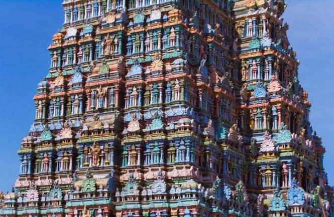 Πολύχρωμοι ναοί στην Ινδία (9)