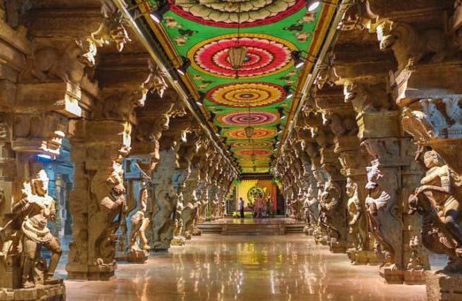 Πολύχρωμοι ναοί στην Ινδία (13)