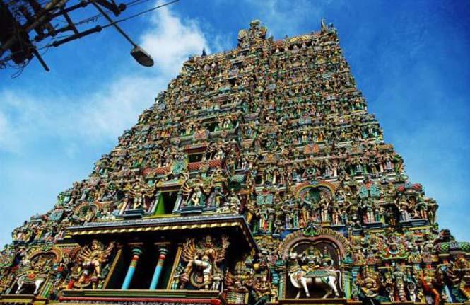 Πολύχρωμοι ναοί στην Ινδία (17)