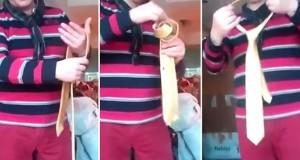 Πως δένουν οι μάγοι την γραβάτα τους (Video)
