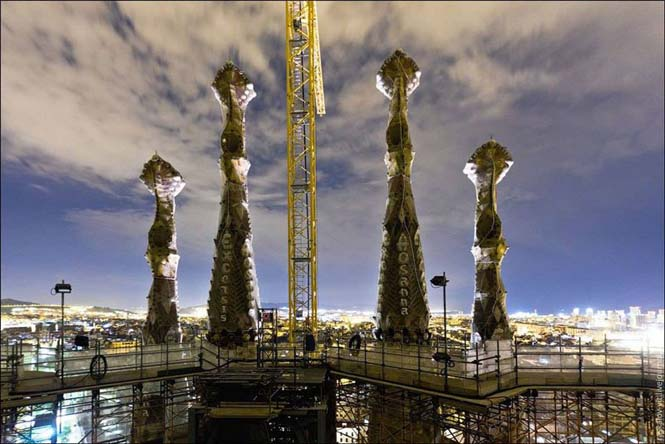 Η Sagrada Familia όπως δεν την έχετε ξαναδεί (1)