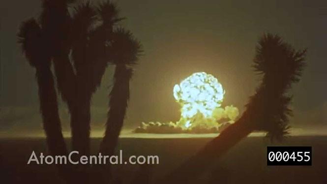 Σπάνιο βίντεο του 1955 δείχνει δοκιμές ατομικής βόμβας