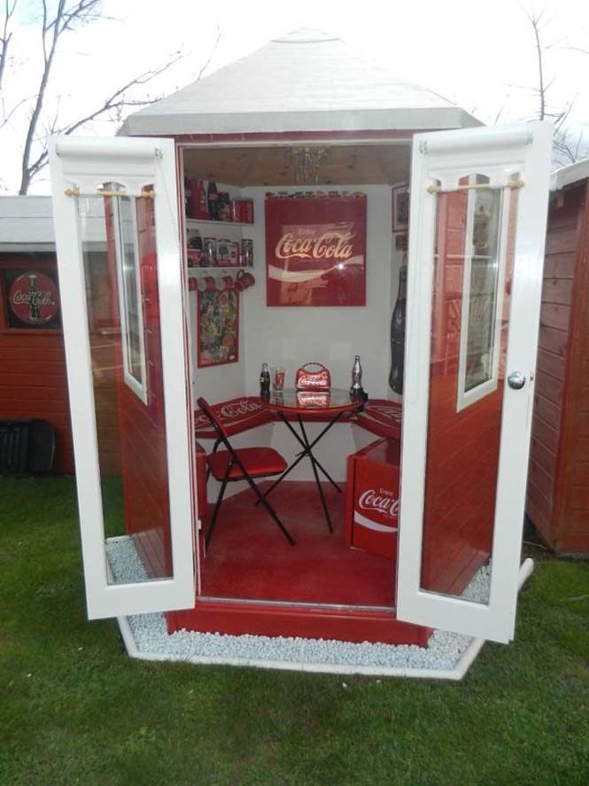Δείτε πως έκανε το σπίτι της μια γυναίκα που τρελαίνεται για την Coca Cola (6)