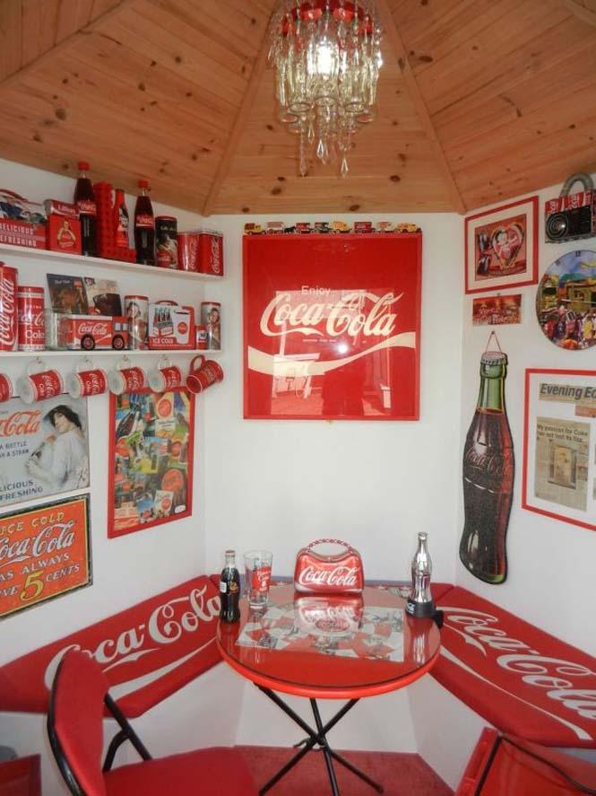Δείτε πως έκανε το σπίτι της μια γυναίκα που τρελαίνεται για την Coca Cola (7)
