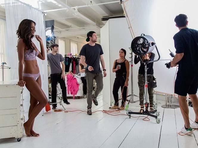 Στα παρασκήνια μιας φωτογράφησης για την Victoria's Secret (2)