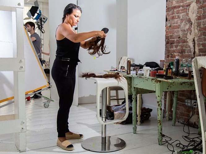 Στα παρασκήνια μιας φωτογράφησης για την Victoria's Secret (3)