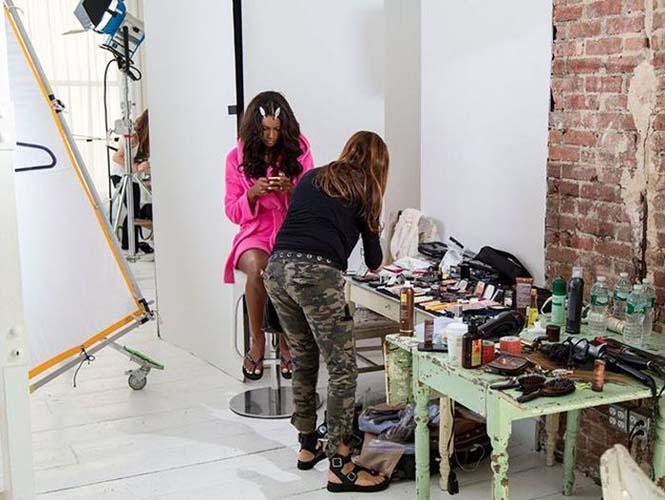 Στα παρασκήνια μιας φωτογράφησης για την Victoria's Secret (7)