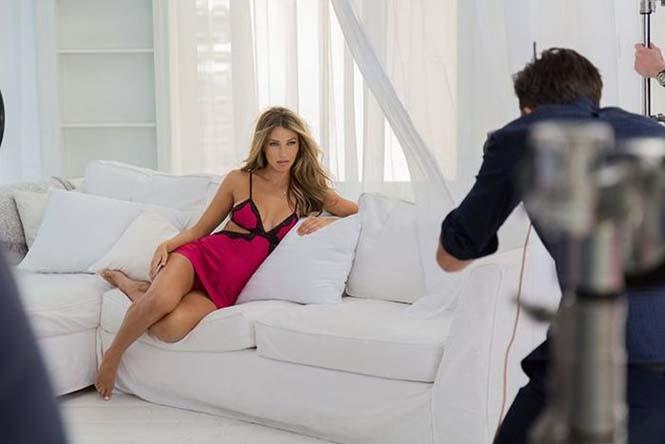 Στα παρασκήνια μιας φωτογράφησης για την Victoria's Secret (8)