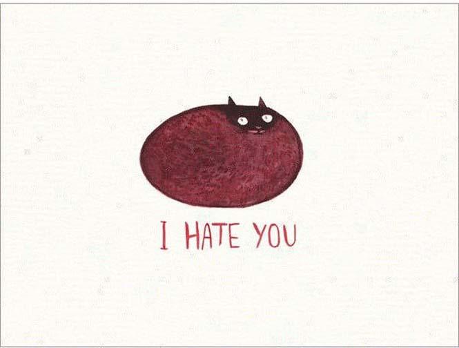 Χαριτωμένες κάρτες για τους εχθρούς σας (4)