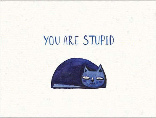 Χαριτωμένες κάρτες για τους εχθρούς σας (6)