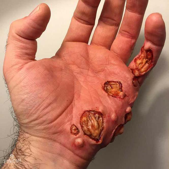 Τα υπερβολικά ρεαλιστικά μακιγιάζ ειδικών εφέ του Marc Clancy (3)