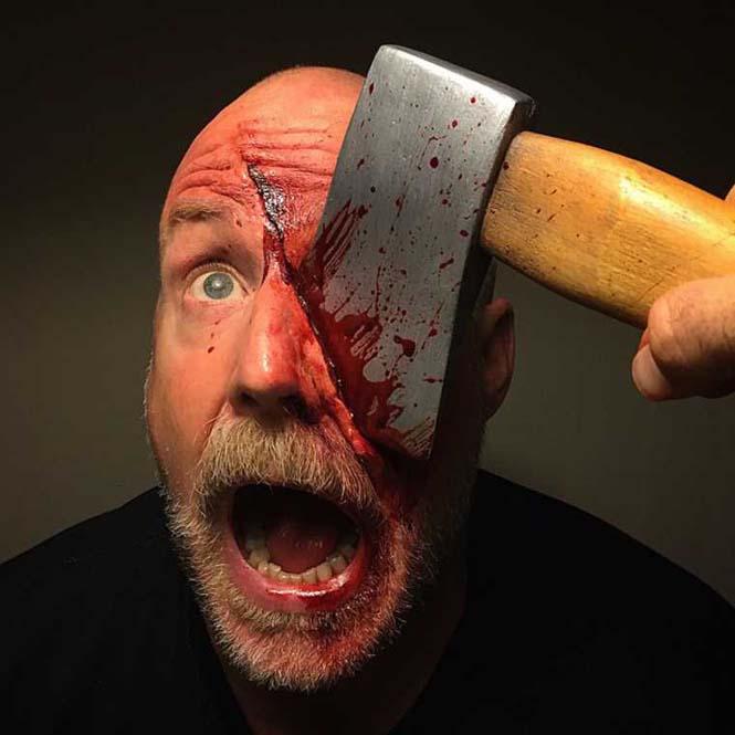 Τα υπερβολικά ρεαλιστικά μακιγιάζ ειδικών εφέ του Marc Clancy (5)