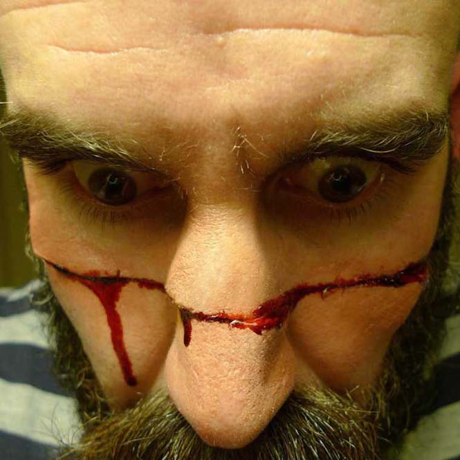 Τα υπερβολικά ρεαλιστικά μακιγιάζ ειδικών εφέ του Marc Clancy (8)