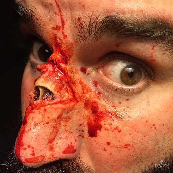 Τα υπερβολικά ρεαλιστικά μακιγιάζ ειδικών εφέ του Marc Clancy (22)