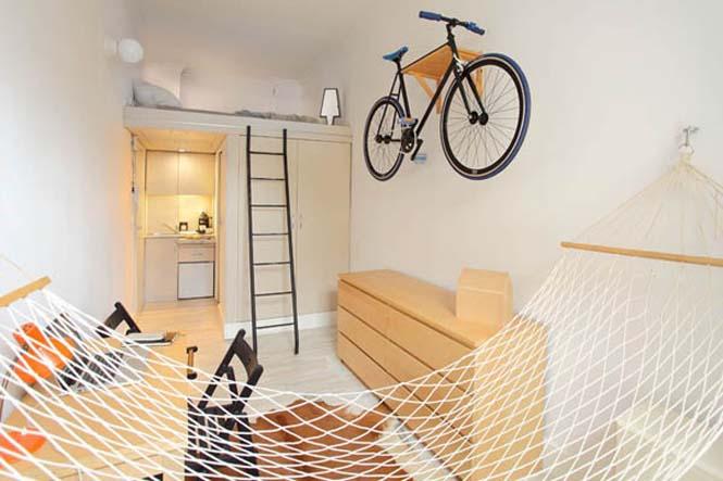 Ζώντας άνετα σε ένα διαμέρισμα 13 τ.μ. (1)