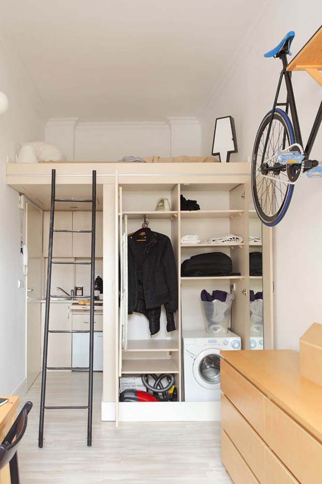 Ζώντας άνετα σε ένα διαμέρισμα 13 τ.μ. (2)