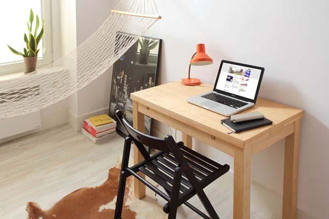 Ζώντας άνετα σε ένα διαμέρισμα 13 τ.μ. (6)