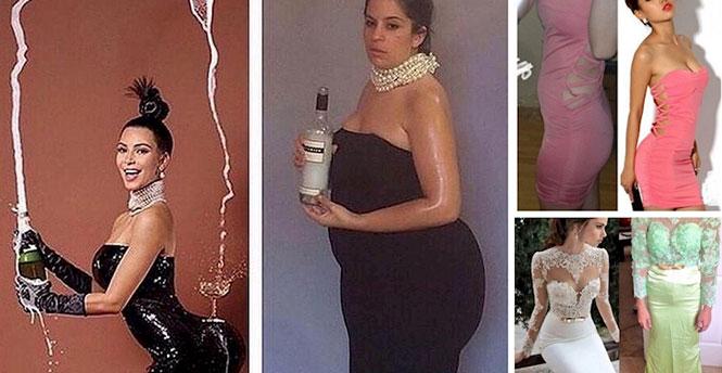 9 γυναίκες που έπρεπε να δοκιμάσουν το φόρεμα πριν το αγοράσουν