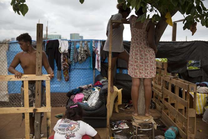 Άστεγος στην Χαβάη (1)
