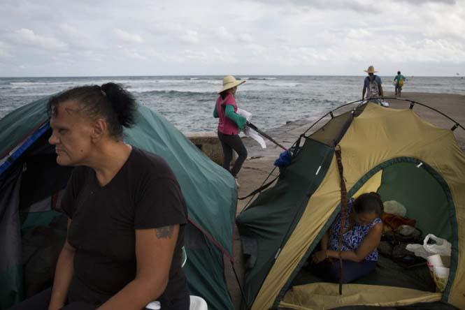 Άστεγος στην Χαβάη (2)