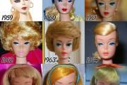 Η εξέλιξη της Barbie με το πέρασμα των χρόνων (1)