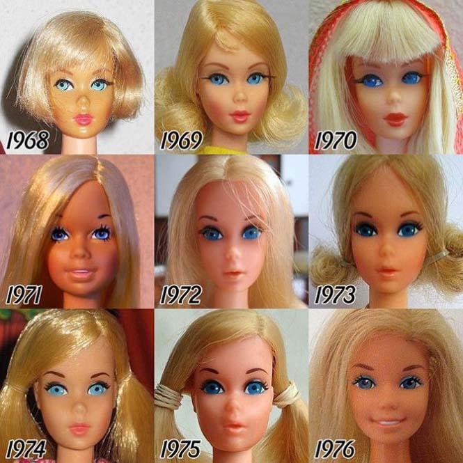 Η εξέλιξη της Barbie με το πέρασμα των χρόνων (2)